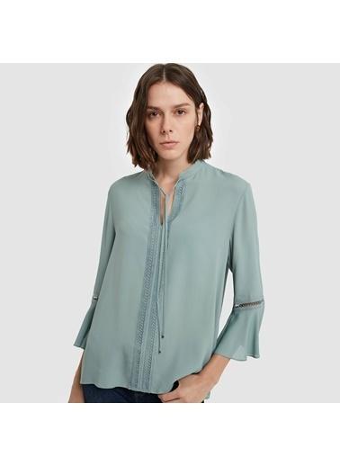 Yargıcı Bluz Yeşil